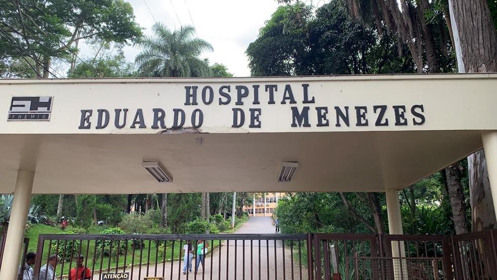 Hospital Eduardo de Menezes — Foto: Herbert Cabral/TV Globo