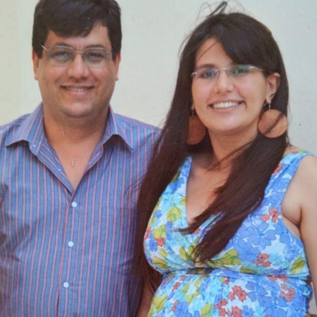 Empresário Miguel da Rocha Correia Lima, de 55 anos, morreu após infarto  (Foto: Arquivo Pessoal via BBC)