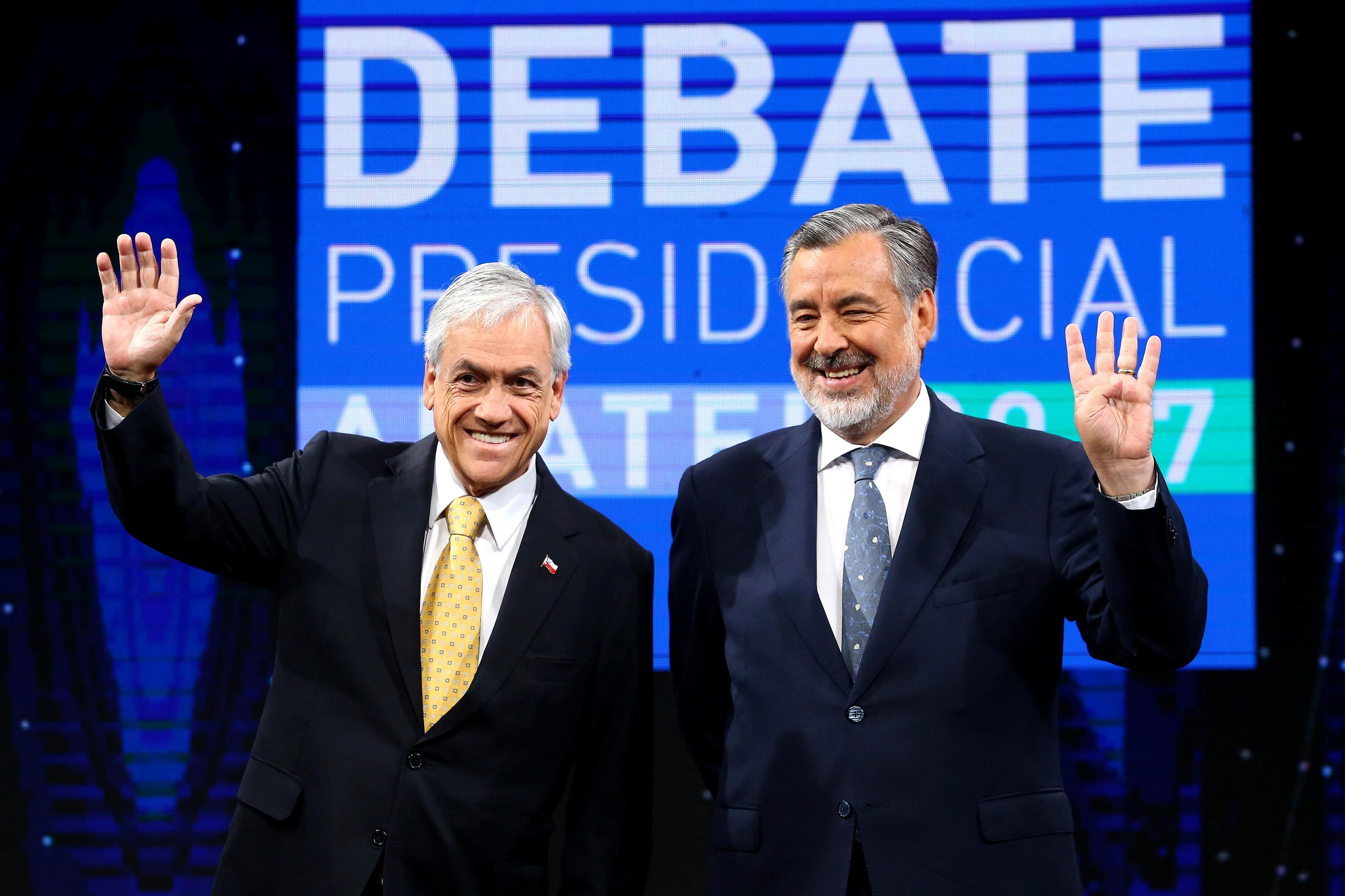 Piñera e Guillier disputam 2º turno presidencial acirrado neste domingo no Chile