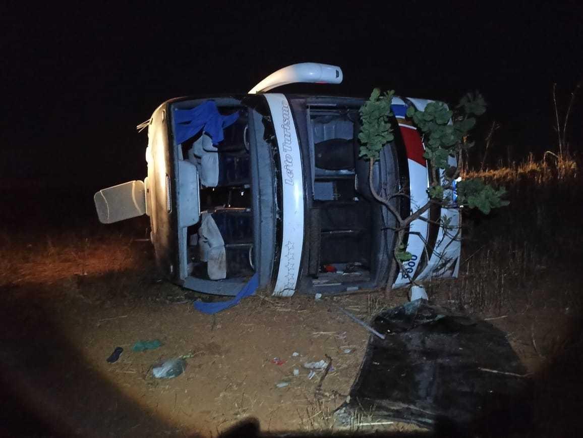 Motorista de ônibus envolvido em acidente em Serra do Salitre é detido