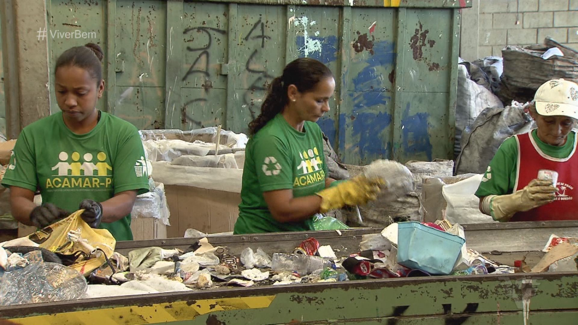 Ecoponto em Praia Grande, SP, realiza importante trabalho de reciclagem