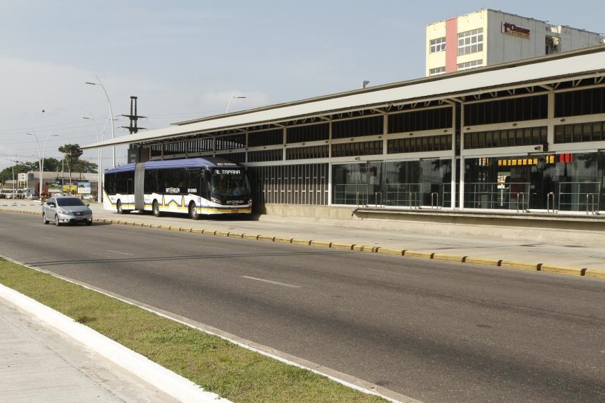 Sistema BRT Belém retoma atividades com 10 ônibus articulados