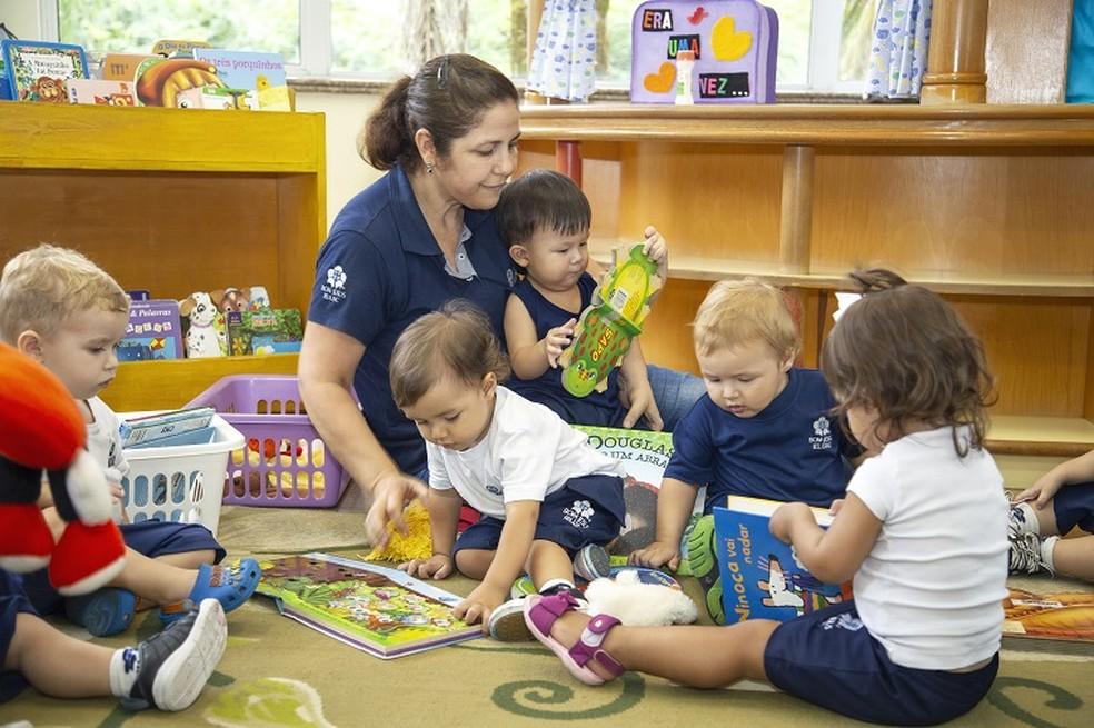 Educação Infatil — Foto: Acervo do Colégio Bonja