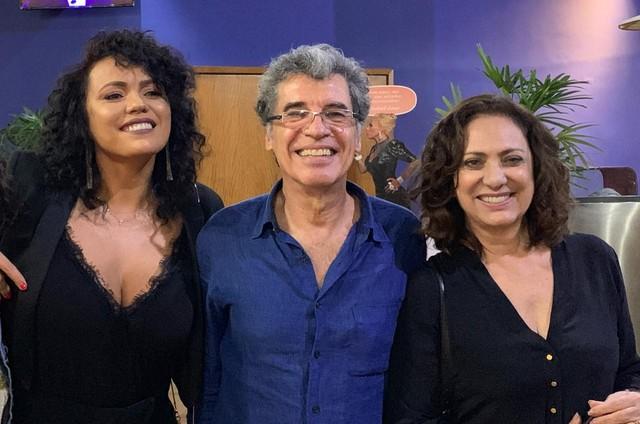 Dadá Coelho, Paulo Betti e Eliane Giardini (Foto: Arquivo pessoal)