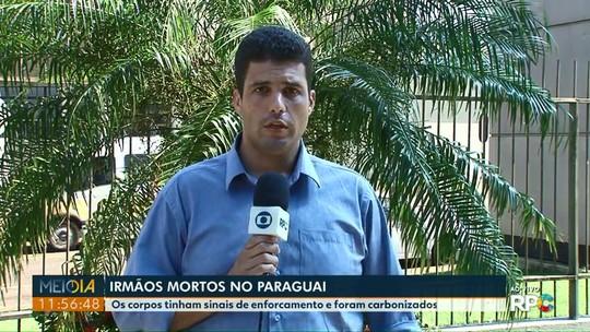Irmãos de Foz do Iguaçu foram encontrados mortos no Paraguai