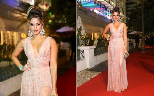 Lucy Alves no Baile do Copa 2019