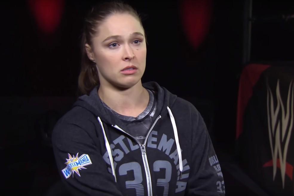 Ronda Rousey comentou derrotada para Amanda Nunes mais de um ano depois (Foto: Reprodução / YouTube)