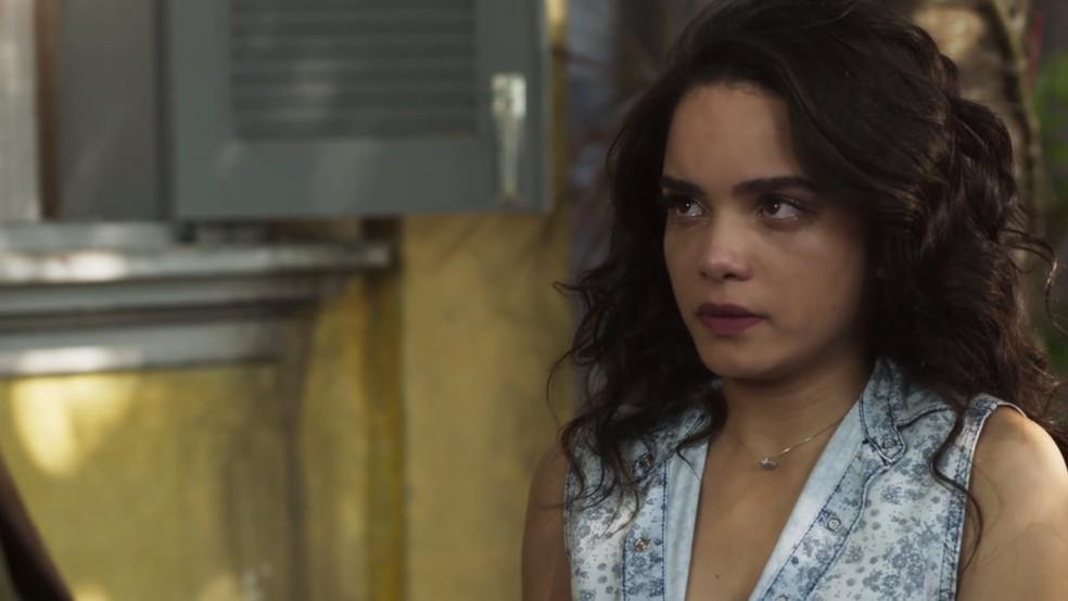 ...e Paulina lhe conta tudo que sabe (Foto: TV Globo)