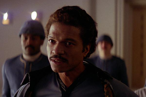 O ator Billy Dee Williams em cena de Star Wars: O Império Contra-Ataca (1980) (Foto: Reprodução)