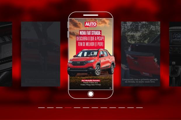 Autoesporte cria web stories em parceria com o Google (Foto: Autoesporte)