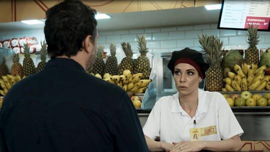 Ana Furtado embarca em brincadeira do 'Tá No Ar': 'Substituta oficial do Brasil'