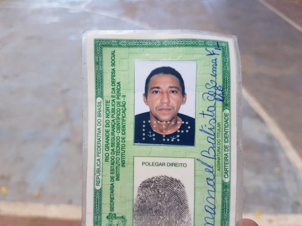 Manoel Batista de Lima Filho foi executado a tiros (Foto: Nilson Ferreira/Blog Passando na Hora)