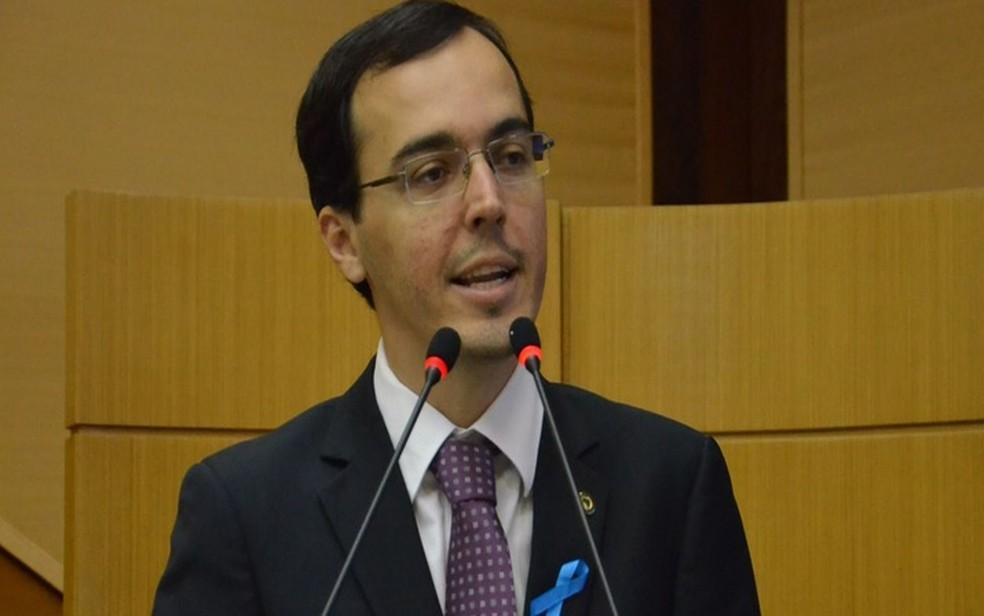 Líder da oposição, deputado Georgeo Passos (PTC). (Foto: Divulgação assessoria do parlamentar Georgeo Passos/ Alese)