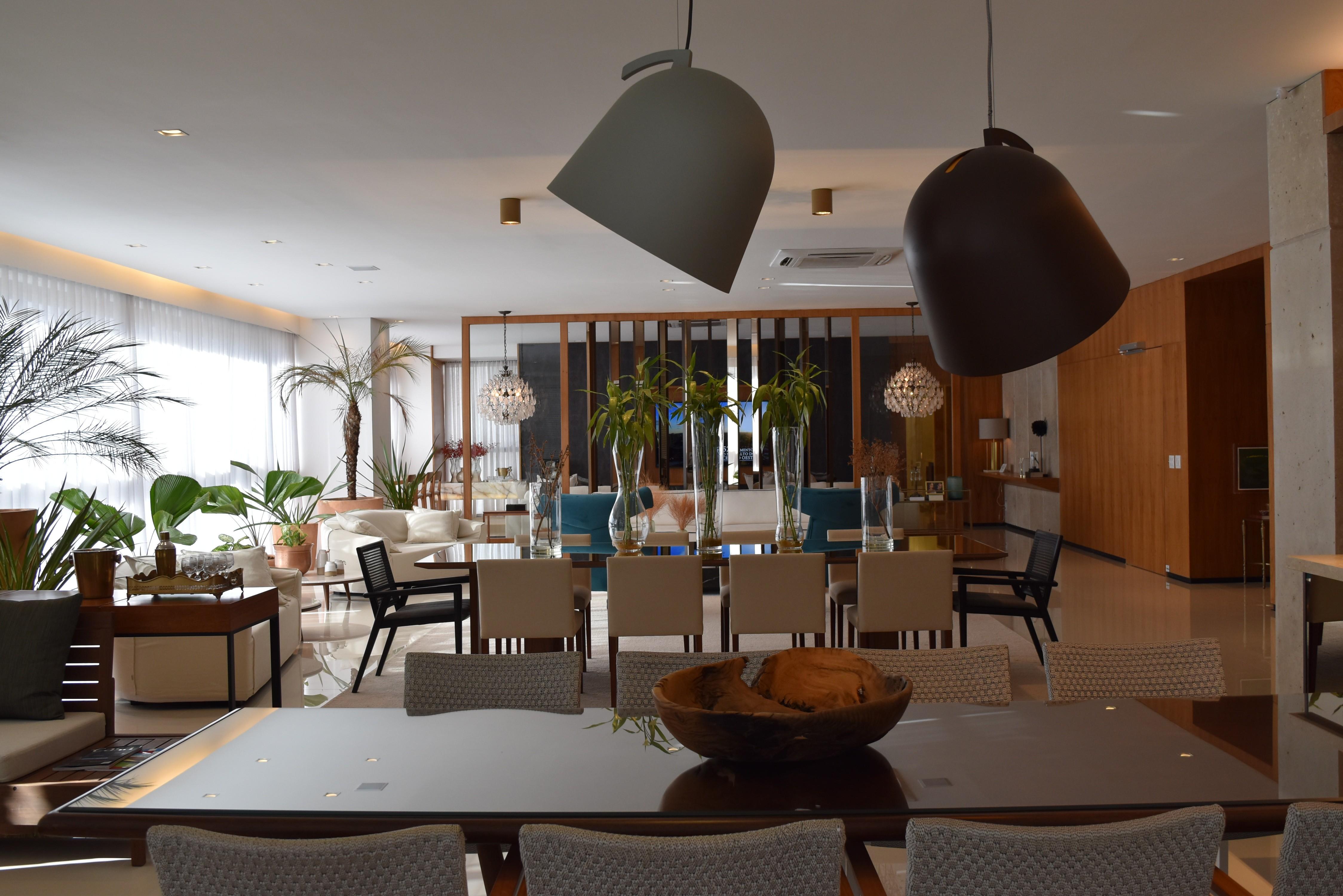 Arquitetos dão dicas de como aproveitar ambientes amplos em apartamentos de luxo, em Goiânia