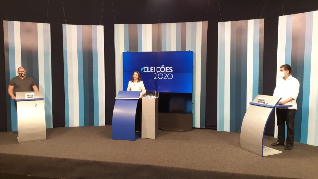 Reveja: Abilio e Emanuel Pinheiro no último debate