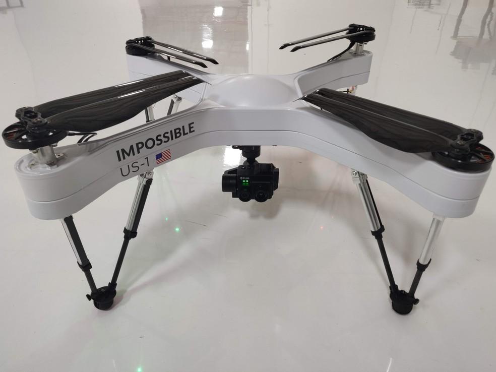 Drone usado em operação da SWAT tem autonomia de 90 minutos — Foto: Reprodução / The Verge