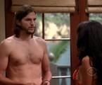 Ashton Kutcher em Two and a half men' | Reprodução da internet
