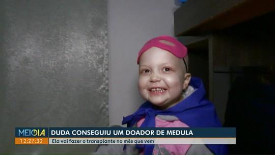 Menina que fez campanha na internet consegue doador de medula óssea