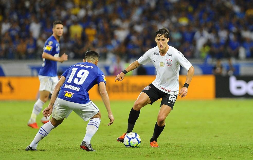 No jogo de quarta, espaço principal da camisa do Corinthians estava limpo — Foto: Marcos Riboli