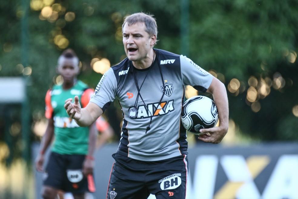 Diego Aguirre chegou ao Galo para substituir Levir, recontratado pelo clube neste momento — Foto: Bruno Cantini