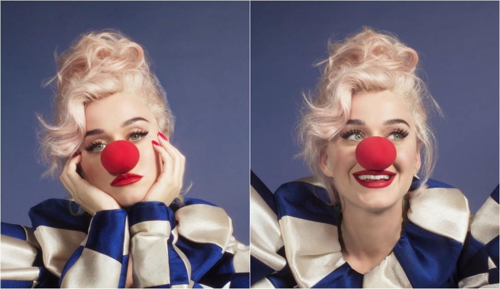 Katy Perry em fotos do álbum 'Smile' — Foto: Divulgação