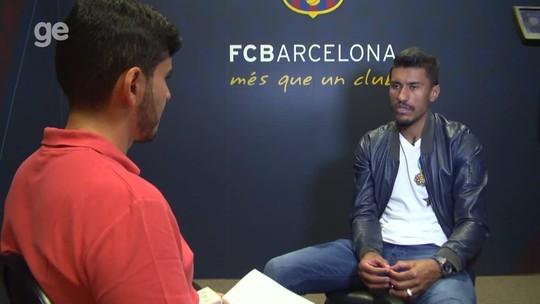 Paulinho cala questionamentos e conta que Neymar o influenciou na ida ao Barça