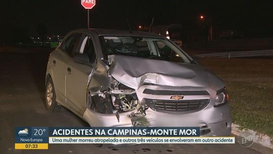 Mulher morre atropelada ao tentar atravessar rodovia em Hortolândia