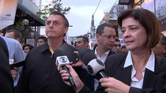 Bolsonaro critica 'gente novata' do PSL e compara crise a ferida