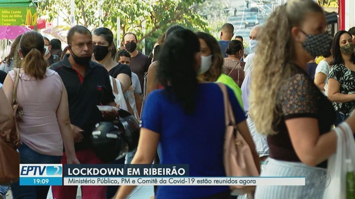 Representantes de comitês contra a Covid-19 discutem possibilidade de 'lockdown' em Ribeirão Preto – G1