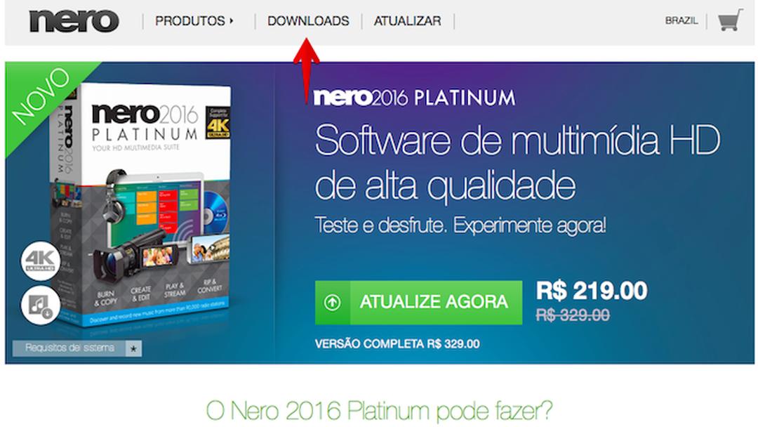 Nero 16 platinum download