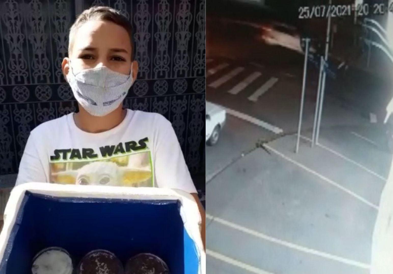 Menino de 11 anos morto por motorista bêbado era conhecido no bairro por vender bolos: 'Muito esforçado'