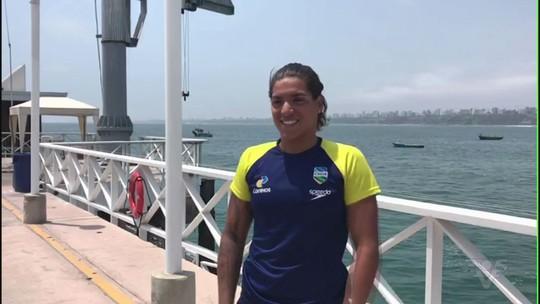 Ana Marcela e Allan do Carmo vencem no Sul-Americano de Maratonas Aquáticas
