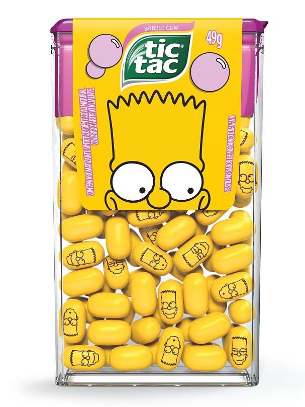 """Tic Tac lança pastilha inspirada em """"Os Simpsons"""" (Foto: Divulgação)"""