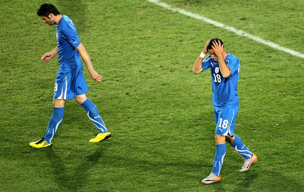 Itália decepcionou em 2010 (Foto: Getty Images)