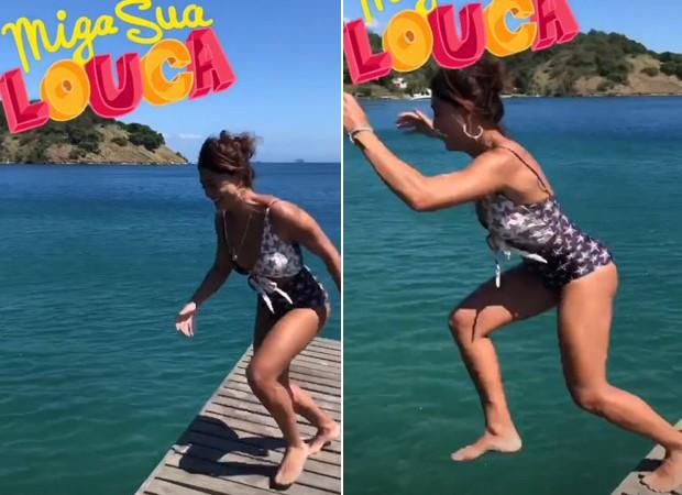 Juliana Paes se diverte em Angra dos Reis (Foto: Reprodução / Instagram)