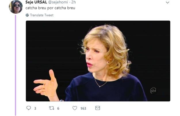 Meme com Kátia Abreu (Foto: reprodução/twitter)