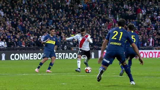 Triste sina: Gago rompe o tendão pela terceira vez em duelos contra o River Plate