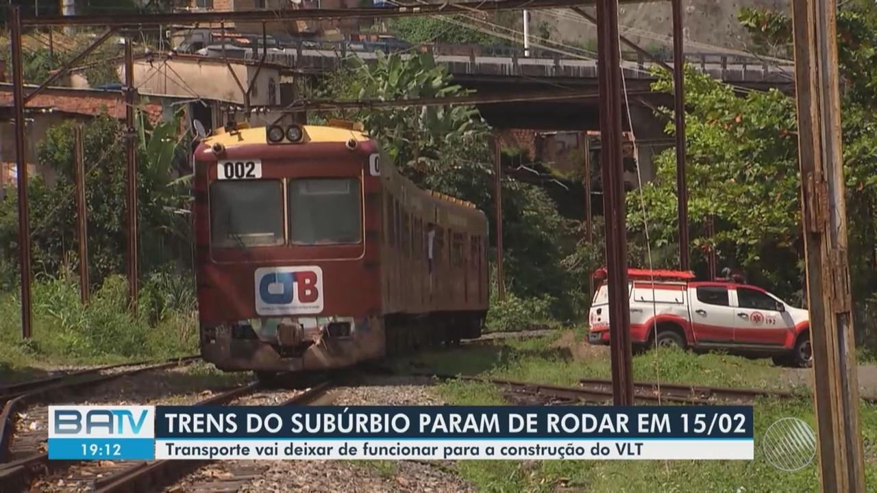 Trem tem serviço interrompido e moradores do Subúrbio vão gastar mais tarifa de ônibus