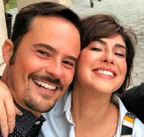 Paulo Vilhena e Fernanda Paes Leme (Foto: Reprodução de internet)