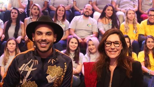 Christiane Torloni e Hugo Gloss ganham elogios dos internautas com participação no 'Domingão'
