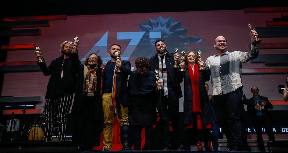Filme 'Pacarrete', de Allan Deberton, levou oito Kikitos no Festival de Cinema de Gramado — Foto: Edison Vara/Agência Pressphoto