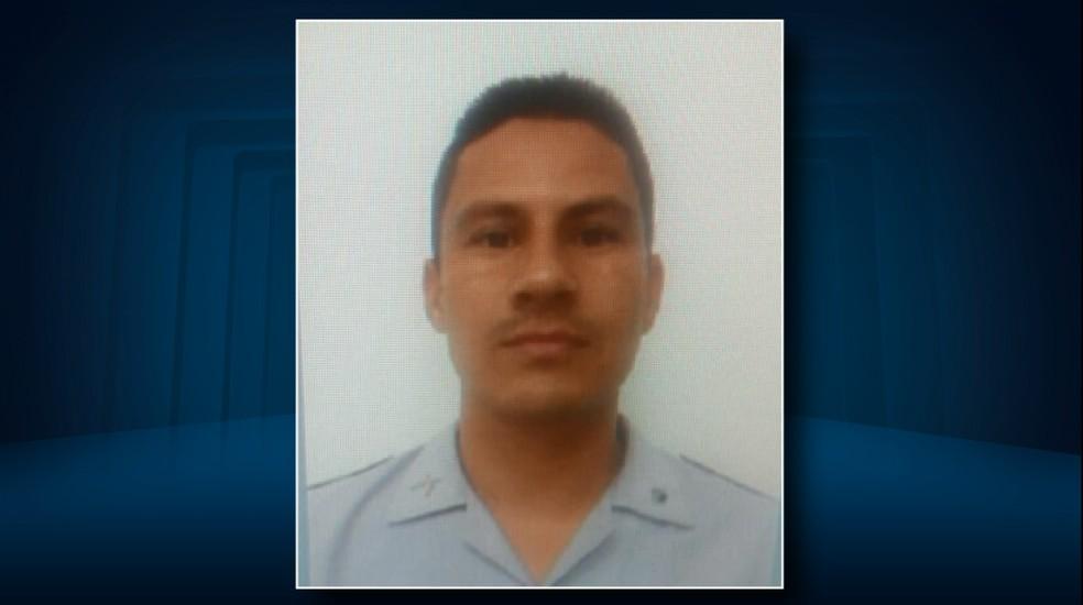 O cabo da PM João Eduardo Prado, de 35 anos, foi morto nesta segunda (4) em Hortolândia (SP) (Foto: Reprodução/EPTV)