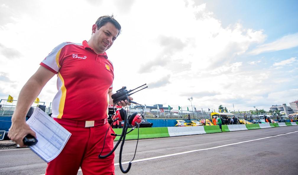 Thiago Meneghel é chefe da equipe TMG na Stock Car — Foto: José Mário Dias