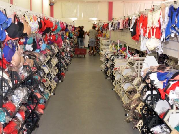 Central de distribuição de lingerie de Nova Friburgo em Campinas (Foto: Divulgação/G. Gonçalves )