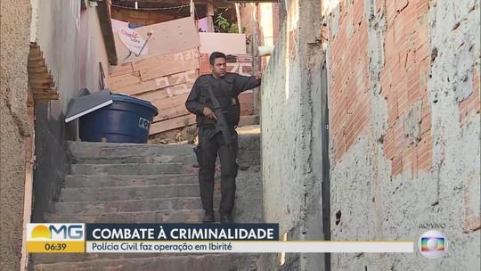 Polícia Civil faz operação contra crimes violentos na Região Metropolitana de Belo Horizonte