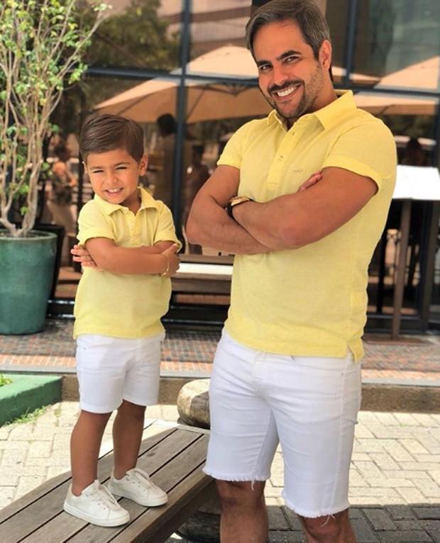 Henry e Kaká Diniz (Foto: Reprodução/Instagram)