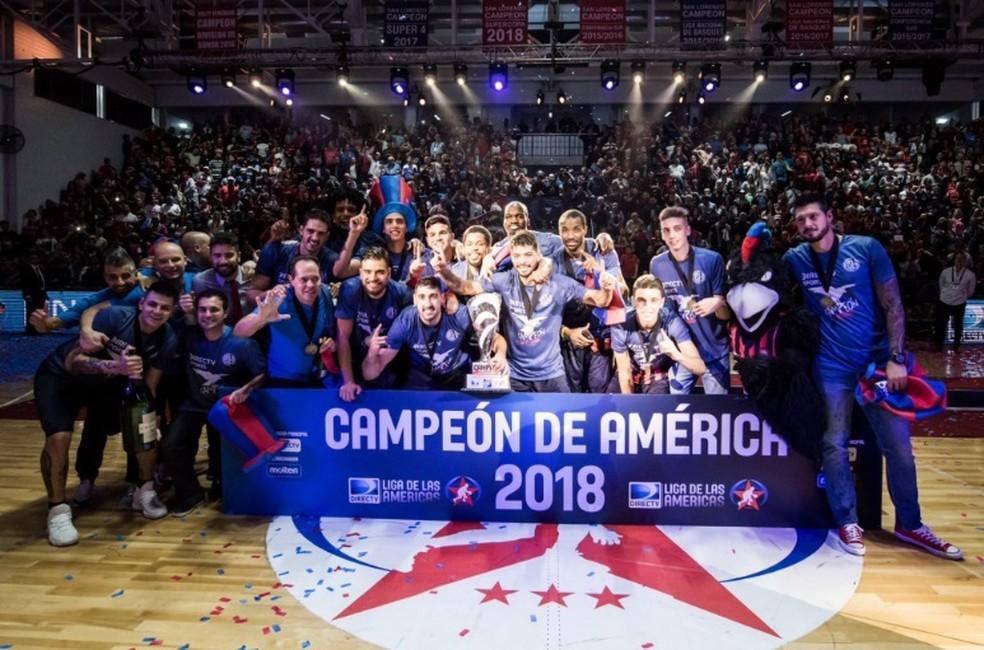 San Lorenzo conquistou o título da Liga das Américas de 2018 (Foto: FIBA Americas)