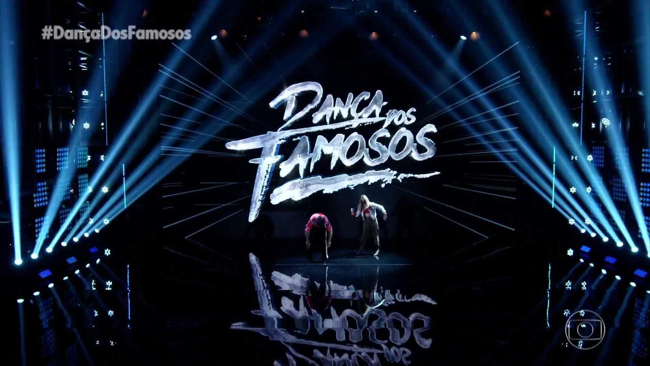 Zé Roberto e Larissa Lannes dançam 'Let's Groove'