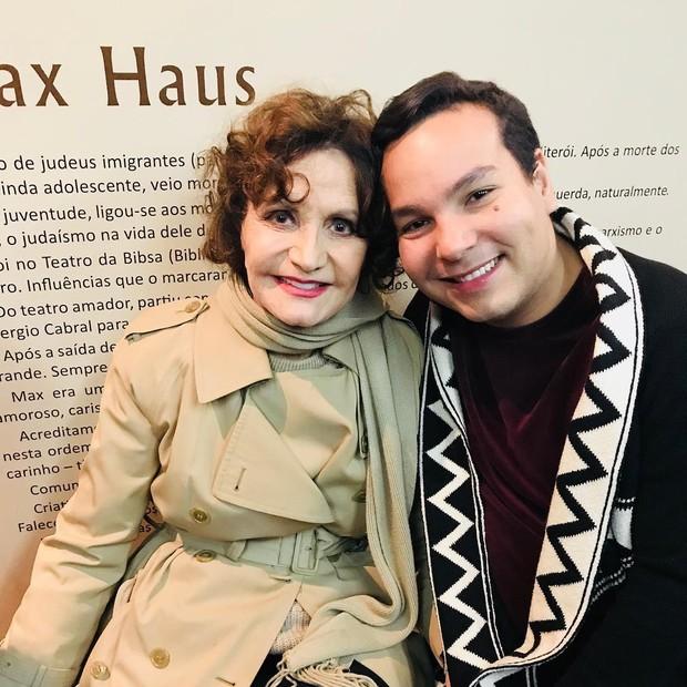 Netinho Alves e Rosamaria Murtinho (Foto: Arquivo pessoal)