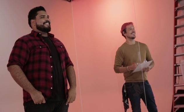 Paulo Vieira e João Vicente de Castro (Foto: Arquivo pessoal)